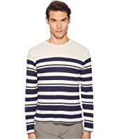 Orlebar Brown - Sammy Long Sleeve Multistripe T-Shirt