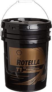Rotella T1 30 CF/CF-2 Motor Diesel Oil, 5 Gallon - Pack of 1