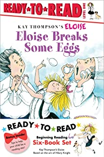 Eloise Ready-To-Read Value Pack #2: Eloise Breaks Some Eggs; Eloise and the Dinosaurs; Eloise at the Ball Game; Eloise Has...