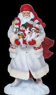 Pipka Snowman Santa - Reflections of Christmas - Santa Christmas Pipka Figurines
