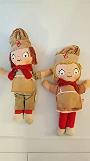 Vintage Campbell Soup Kids Chef Dolls