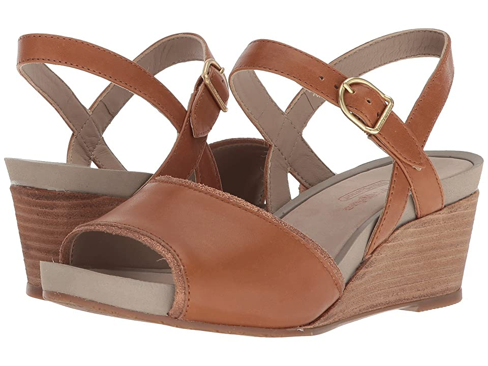Hush Puppies Cassale Quarter Strap (Tan Leather) Women