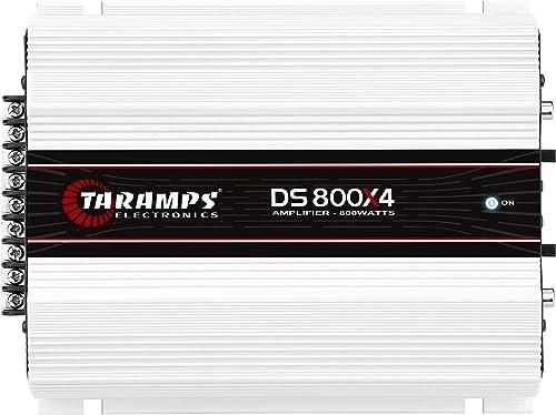 Módulo Taramps DS 800x4 1 ohm 800 W RMS 4 Canais Amplificador Som Automotivo