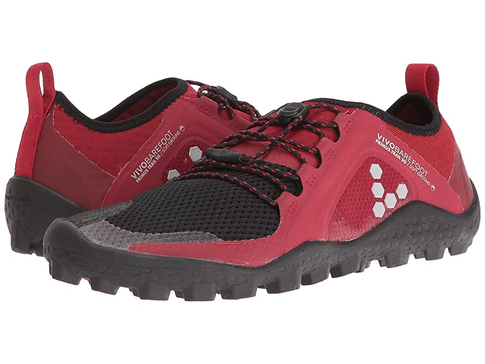 Vivobarefoot Primus Trail Soft Ground (Red/Black) Women