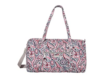 Vera Bradley Lay Flat Travel Duffel (Gramercy Paisley) Bags