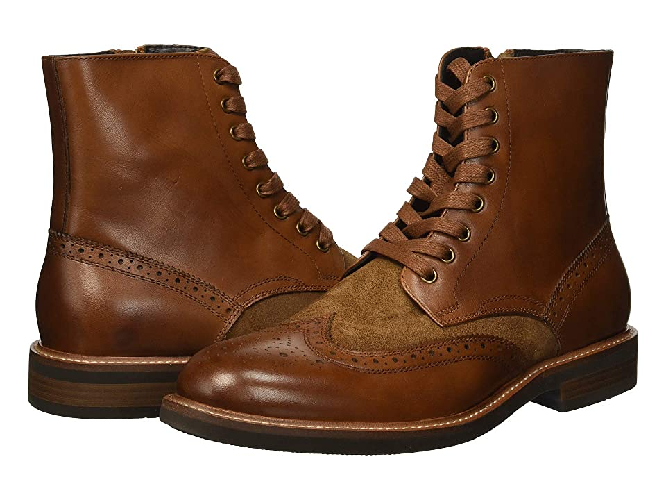 Kenneth Cole Reaction Klay Boot (Cognac) Men
