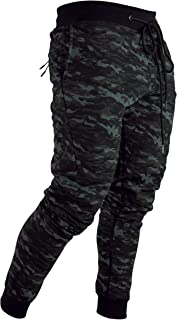 Camo Tech Joggers Black By Onthec Camouflage Sweats Track Pants Fitted Cuffed