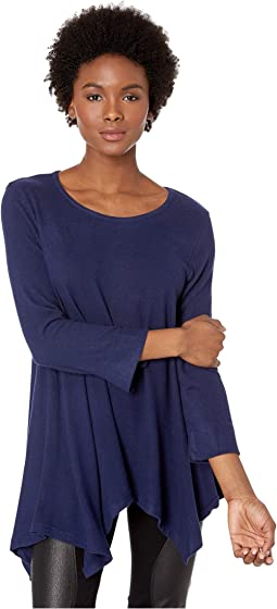 Fit and Flare Brushed Tunic