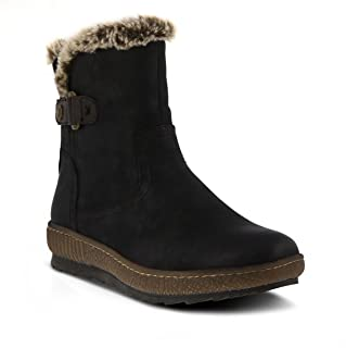 black ankle boots spring