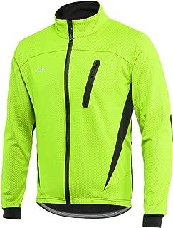 ARSUXEO Winter Warm UP Thermal Fleece Cycling Jacket Windproof Waterproof Breathalbe 16H