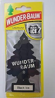 wunder baum Black Ice Auto Lufterfrischer–Papier, Auto, Schwarz)