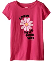 Life is Good Kids - Grow Your Flower Crusher™ Tee (Little Kids/Big Kids)