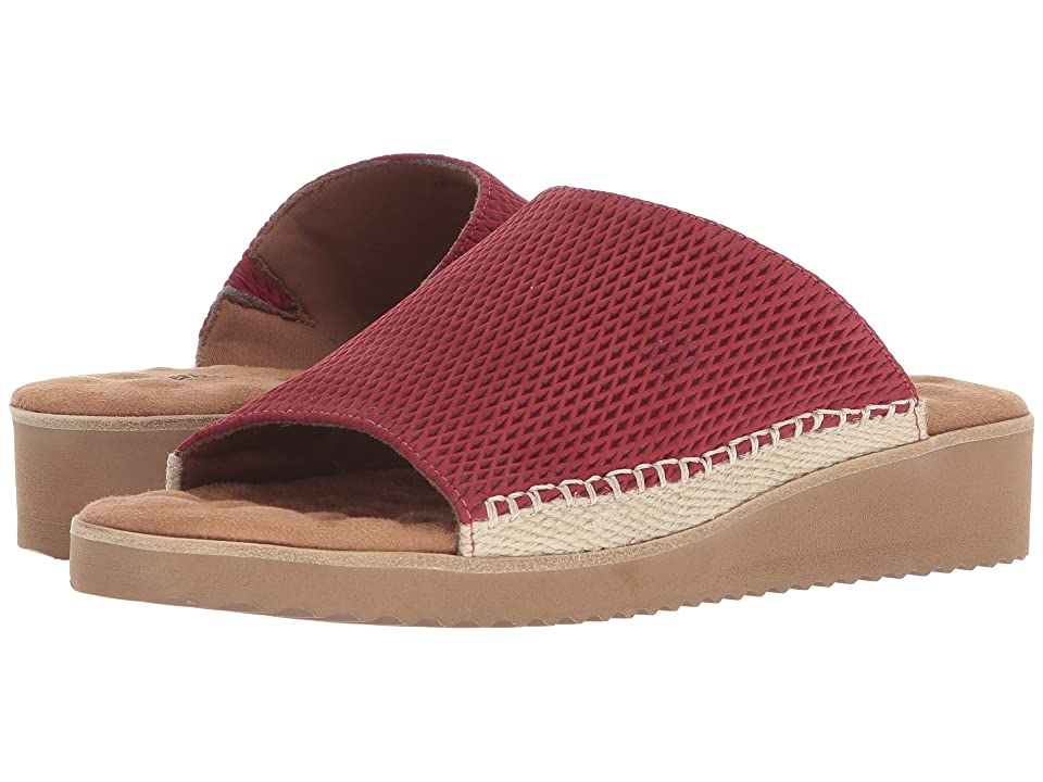 Walking Cradles Henna (Red Stamped Nubuck) Women