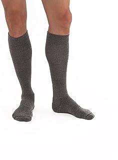 57ffe3ba14 JOBST Activewear 30-40 mmHg Knee High Compression Socks, Medium, Steel Grey
