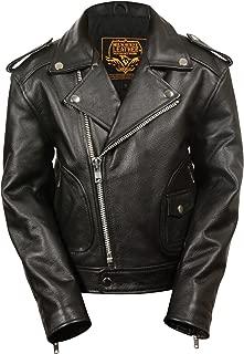 Milwaukee Leather Boys' Updated Jacket (Black, Medium) (M/C)