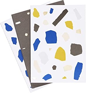 kikki.K A5 Stitch NOTEBOOKS 3PK Dream Plan DO Range Multi Coloured