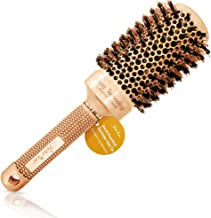 Blow Dry Round Hair Brush with Natural Boar Bristles for Blow-drying | Straightening - Best Roller Brush for Long hair or Want Straight | Wavy Smooth Hair (2