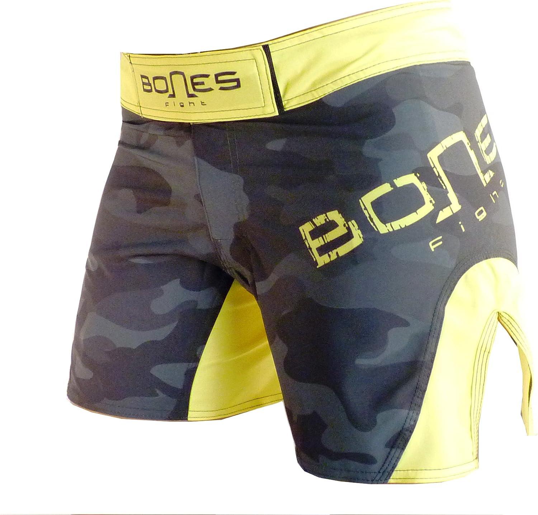 Bones Fight  damen´s Fight Short, damen´s MMA Short, BJJ, damen´s Grappling Short, damen´s Free Fight Short, Camouflage B01MSOX5L6  Neuankömmling