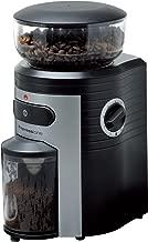 Espressione Professional Conical Burr Coffee Grinder, Black/Silver