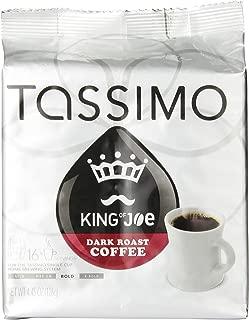 Tassimo King of Joe Dark Roast Coffee T Discs (16 Count)