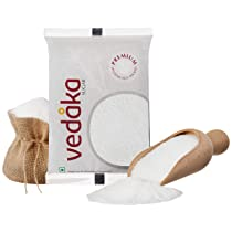 [Pantry] Amazon Brand – Vedaka Premium Sugar (Small Crystals), 1 kg