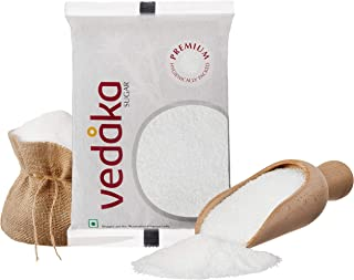 Amazon Brand - Vedaka Premium Sugar (Small Crystals), 1 kg