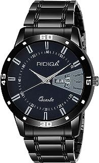 RIDIQA Analog Blue Dial Men's Watch-RD-186