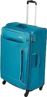 حقيبة سفر كبيرة ناعمة للعطلات من أميريكان توريستر، لون أزرق مخضر، تدور 80 سم