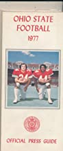 1977 Ohio State Football Media Press Guide em