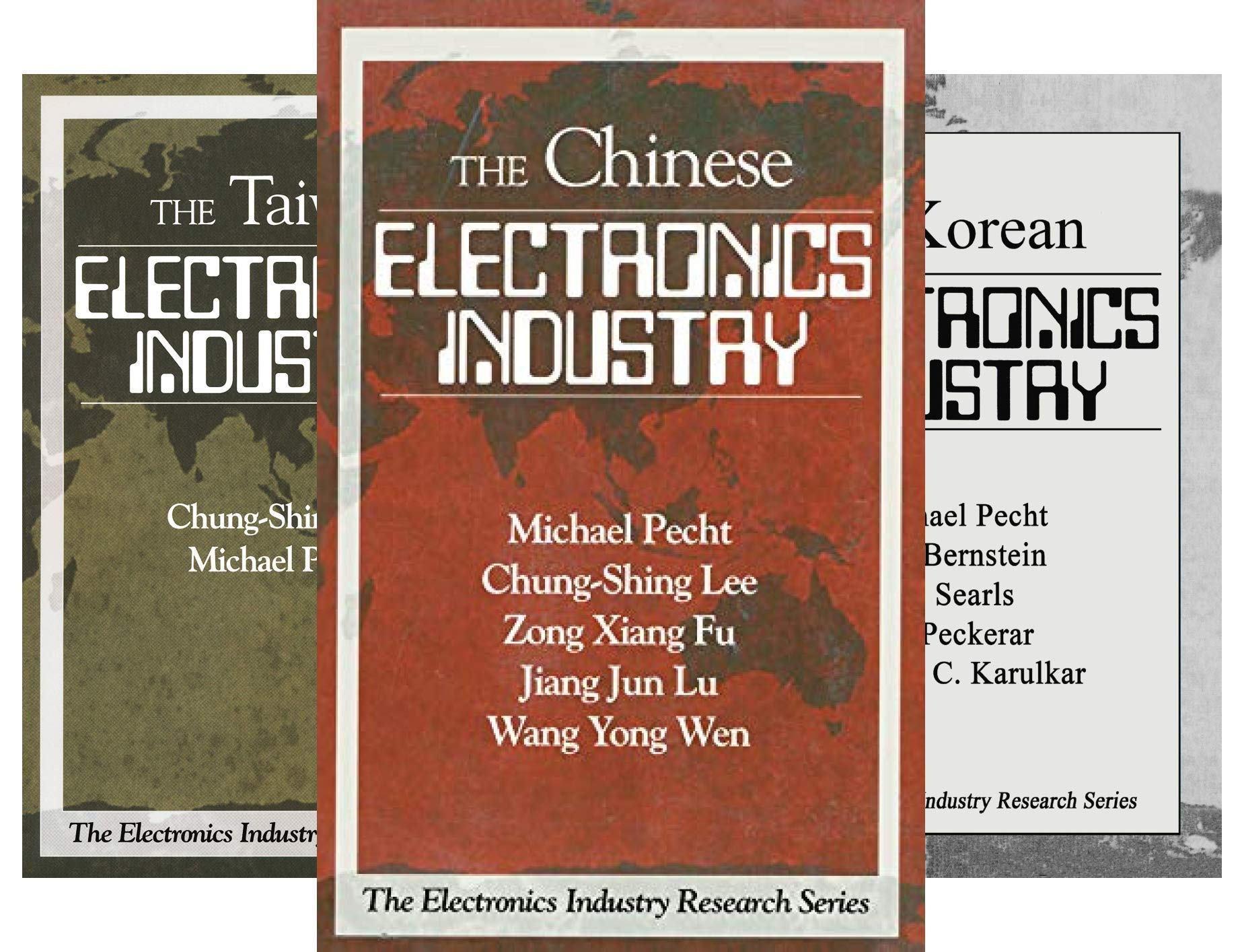 The Electronics Industry Research Series (3 Book Series)