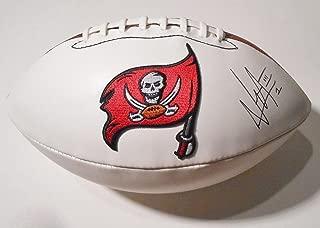 Vernon Hargreaves III Autographed Ball - Bucaneers Logo w COA - Autographed Footballs