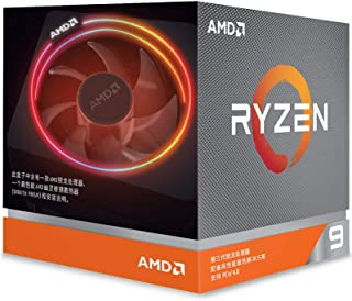 ZHEBEI Suitable for AMD Ryzen 9 3900X 12 core 24 thread 3.8GHz AM4 interface boxed CPU processor