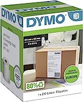 Dymo S0904980, LW 4XL Ekstra Geniş Sevkiyat Etiketi, (104x159 mm) 220 Etiket/Paket
