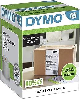 Dymo LabelWriter Etiquettes 4 XL Rouleau de 220 étiquettes 104 x 159 mm