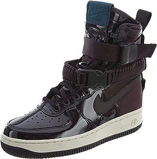 SF Air Force 1 SE Premium Womens Shoes Port Wine/Space Blue aj0963-600 (8.5 B(M) US)