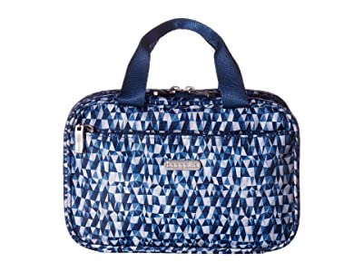 Baggallini Legacy Hanging Travel Kit (Blue Prism) Travel Pouch