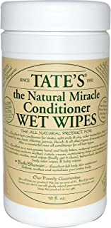 Tate's The Natural Miracle Conditioner Wet Wipes 18oz