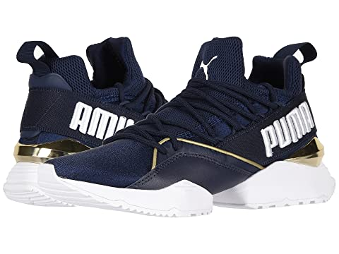 7730dc1d849 shop puma white muse maia chase womens sneakers 1414dshf2c1fe0gs1 d3c97  b0b78; clearance puma muse maia varsity 73f18 37c38