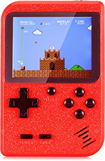 Holahoney Mini Retro Handheld FC Games Consoles ,Built-in 400 Classic Game, Portable Gameboy 3 Inch LCD Screen TV Output ,...