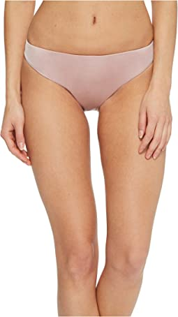 THE BIKINI LAB Solid Cinched Back Hipster Bikini Bottom
