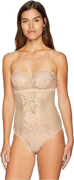 Petunia Strapless Underwire Corsette Bodysuit