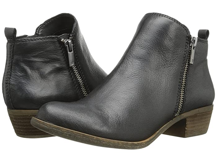 Lucky Brand  Basel (Black) Womens Zip Boots