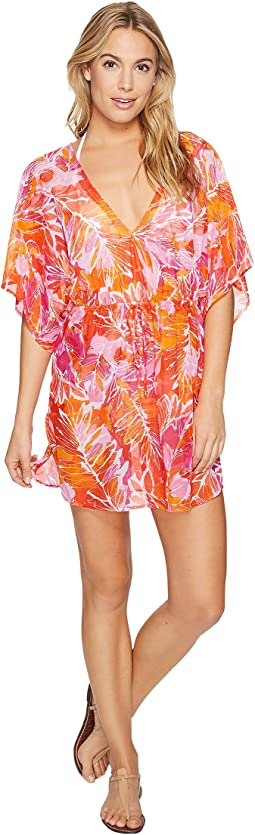 LAUREN Ralph Lauren - Lush Tropical Kimono Tunic Cover-Up