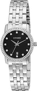 Citizen Women's Quartz Watch with Crystal Accents and Date, EU6030-56E