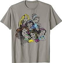 Disney Princess Group Bold Color Pop Graphic T-Shirt