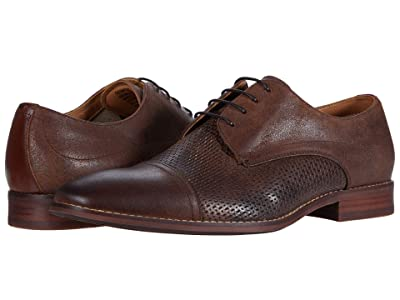 Steve Madden Desmond Oxford (Brown Leather) Men