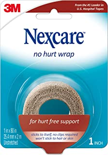 Nexcare No Hurt Wrap Tan 1 Inch X 2.2 Yard Stretched