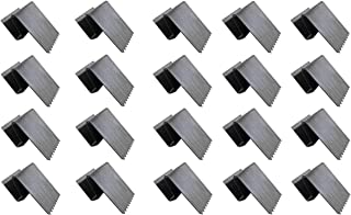 20 HurriClip Hurricane Safety Carbon Steel Clip for ½ inch Plywood | Used to Secure Plywood Hurricane shutters | Includes 20 Total Hurricane Windows Clips