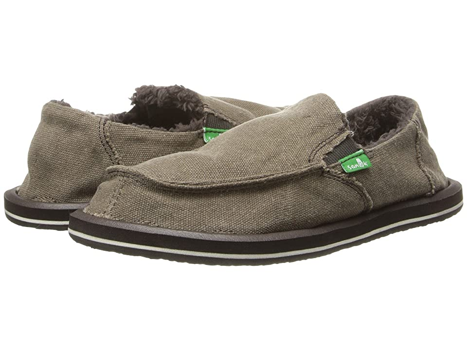 Sanuk Kids Vagabond Chill (Little Kid/Big Kid) (Brown) Boys Shoes