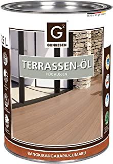 G2 Terrassen-Öl - Gebinde: 2,5 L - Bangkirai | Cumaru | Garapa